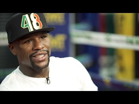Floyd Mayweather Talks Berto Fight with Jim Gray | Mayweather vs. Berto September 12