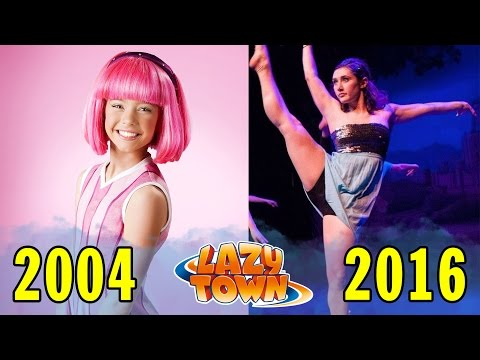 Lazy Town Before and After 2004  2016