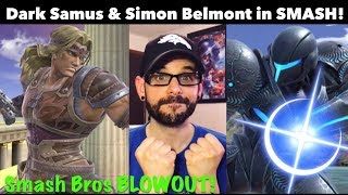 Dark Samus & Simon Belmont in Smash Bros Ultimate FINALLY! | Ro2R