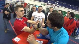 T-POWER: #армрестлинг Чемпион разминочного стола или 10 минут с Чемпионата России