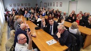Zebranie wyborcze do rady osiedla Stare Miasto (30.03.2015)