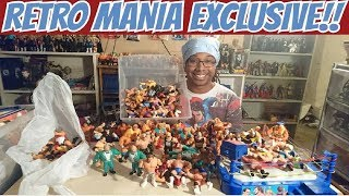 Retro Mania Exclusive WWF Hasbro & WCW Galoob Action Figures