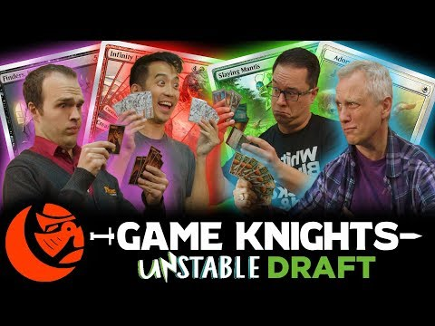 Unstable Draft w/ Mark Rosewater l Game Knights #13 l Magic: the Gathering Gameplay