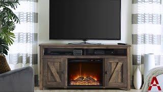 Farmington Electric Fireplace TV Console