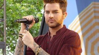 Adam Lambert Soundcheck at GMA 6-19-15 Evil In The Night
