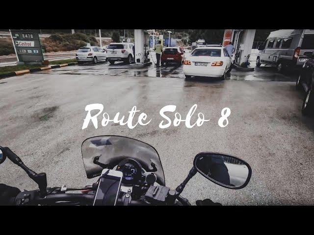 Route Solo FINAL | Anek Ferry | Greece | Solo Biker Girl | XSR 900