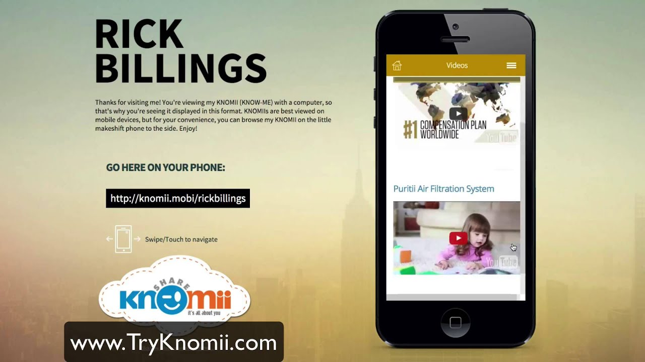 Knomii The Virtual Business Card for The Mobile World | Mobile-to ...