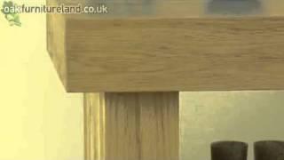 Oakdale Solid Oak Lamp Table From Oak Furniture Land