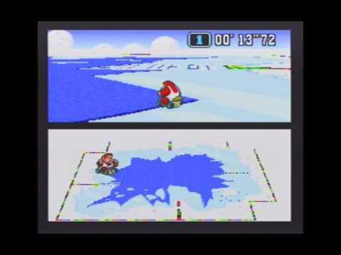 "Super Mario Kart (NTSC) Time Trial : Vanilla Lake 2 (VL2) - 8""99 non-NBT (middle lap)"