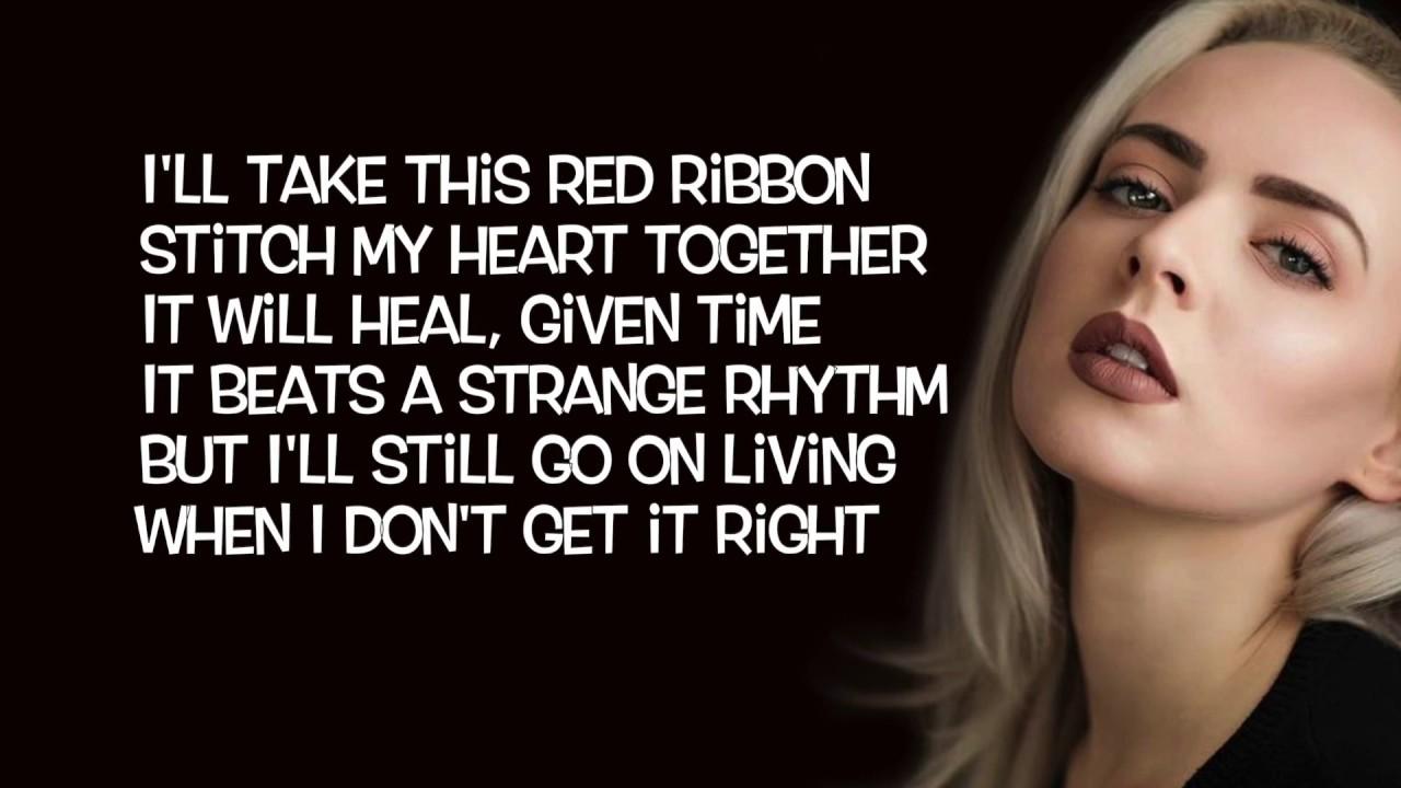 red ribbon lyrics # 3