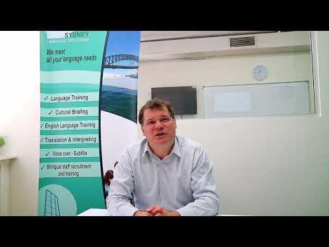 Sydney Language Solutions - Cultural Consultation