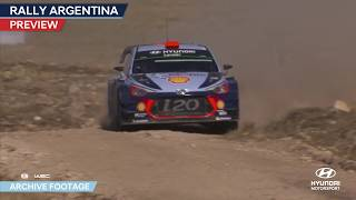Rally Argentina Preview - Hyundai Motorsport 2018