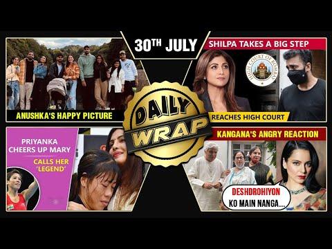 Shilpa's Big Step Against Media, Raj Kundra Exposed, Anushka's Happy Pic   Top 10 News