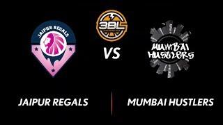 3BL Season 1 Round 5(Bangalore) - Full Game - Day 2(QuarterFinal) - Jaipur Regals vs Mumbai Hutslers