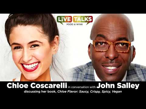 Chloe Coscarelli in conversation with John Salley at Live Talks Los Angeles