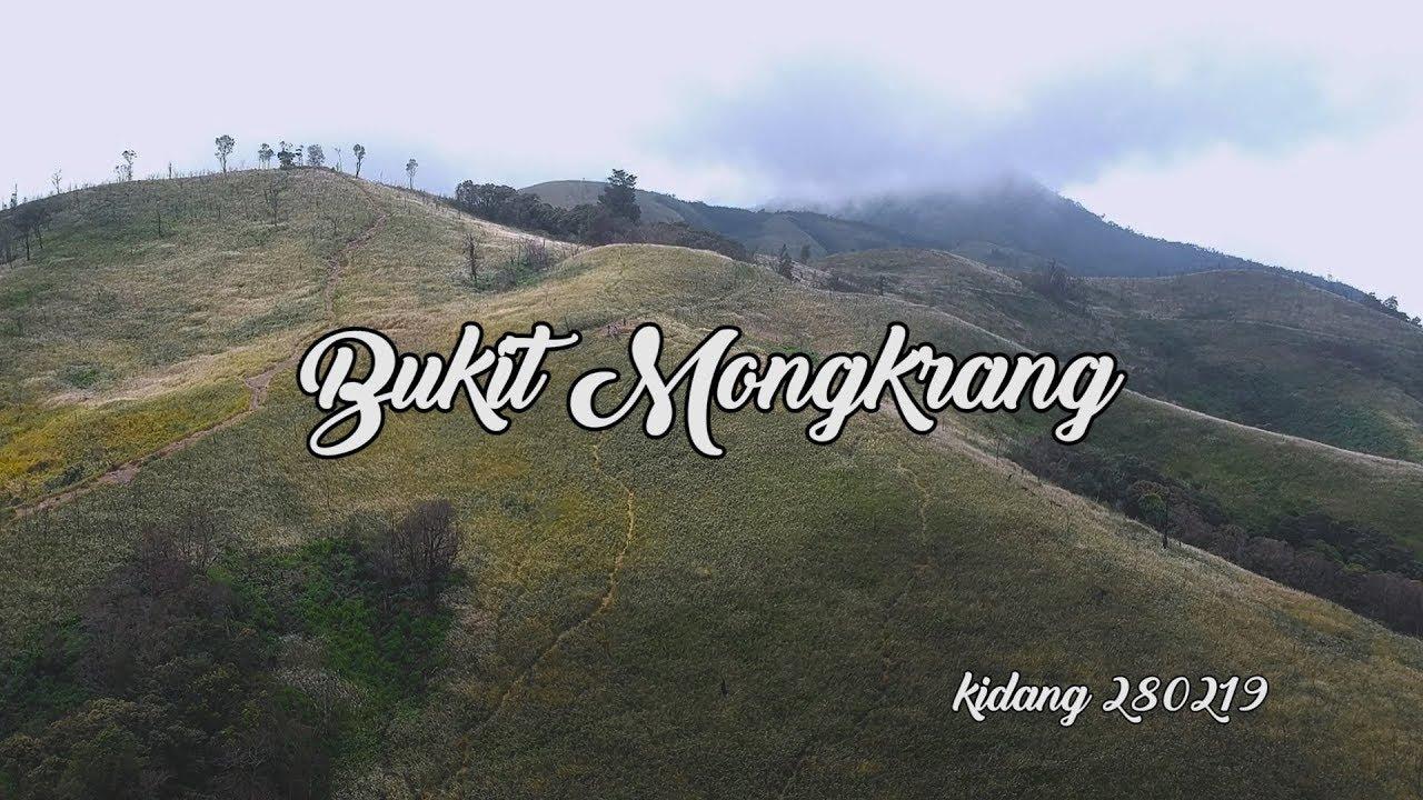 Bukit Mongkrang Drone Udara Tlogodringo Gondosuli Tawangmangu