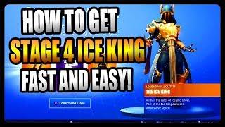 Comment débloquer l'étape 4 Ice King! FASTEST et EASIEST Way! (Fortnite Saison 7)