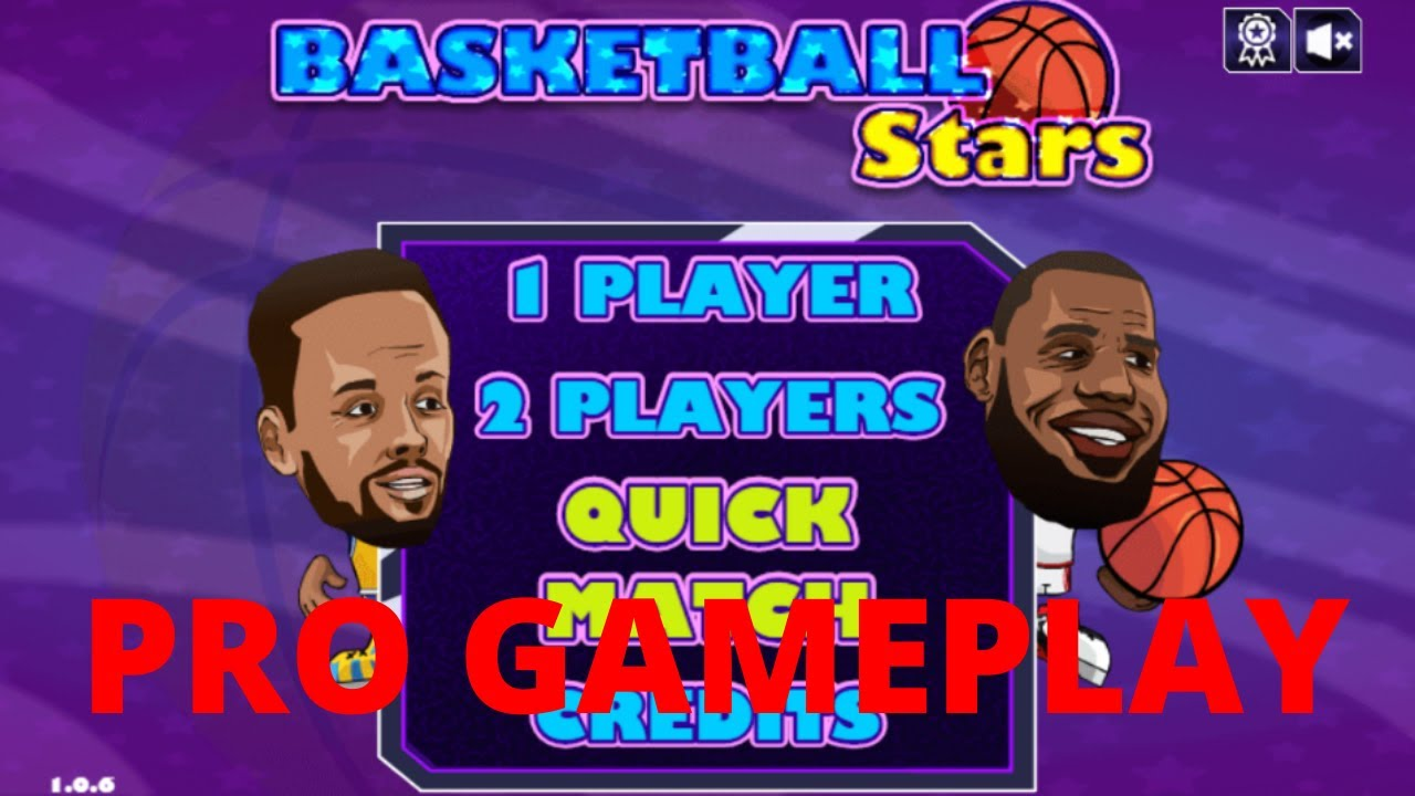 Basketball Stars Pro Gameplay And How To Play Poki Youtube