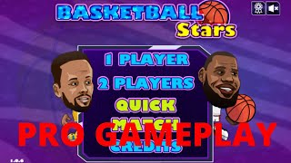 Basketball Stars Pro Gameplay And How To Play.  Poki
