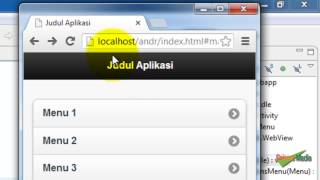 Android Web Application with Webview