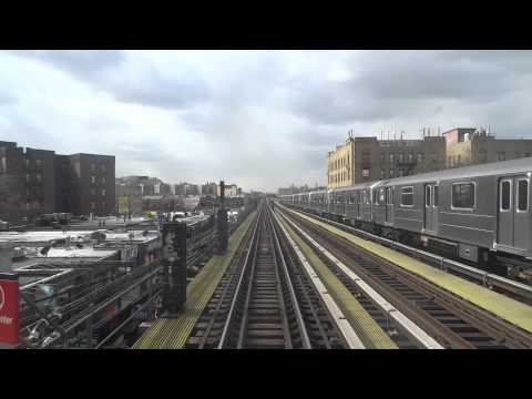 NYC Subway: Anti-Railfan Window R62A (7) From 33rd-Rawson Street To Flushing-Main Street