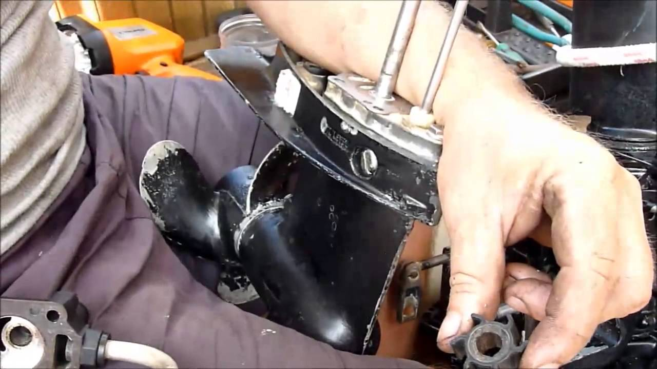 How To Change The Impeller On A Long Shaft Mercury Outboard Youtube 25 Hp Evinrude Wiring Diagram Premium