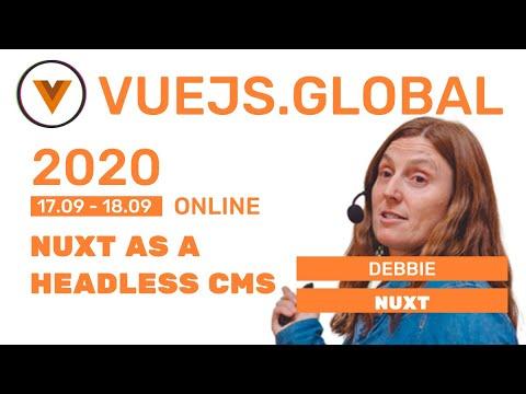 Nuxt.js as a headless CMS at Vuejs Global
