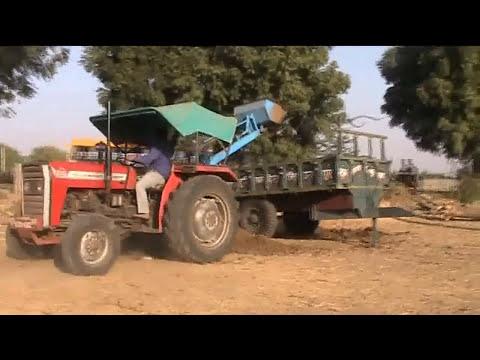 Tractor loading dung. Indian amazing farm equipment dump ...