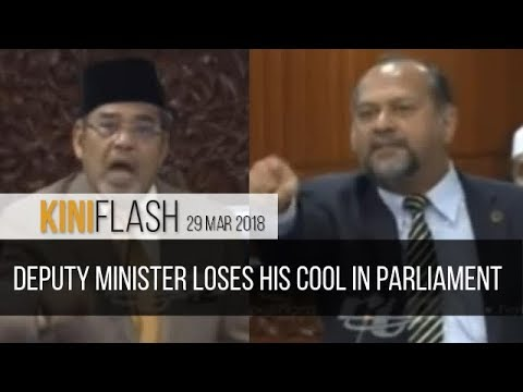 KiniFlash - 29 Mar: Tajuddin loses his cool, clashes with Muhyiddin and Gobind