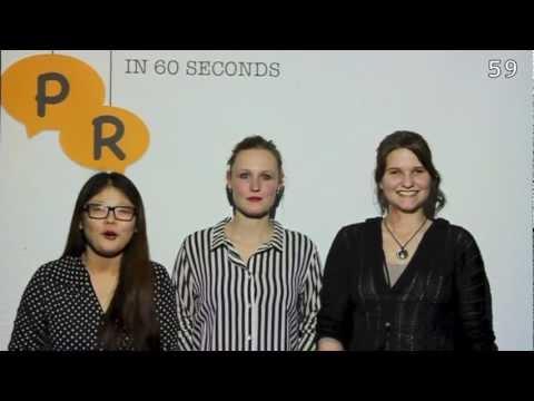 Lobbying-PR in 60 seconds
