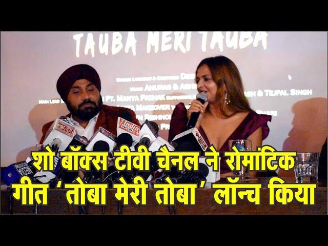 शो बॉक्स टीवी चैनल ने रोमांटिक गीत 'तोबा मेरी तोबा' लॉन्च किया