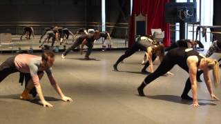 Pittsburgh Ballet Theatre dance class at Seton Hill