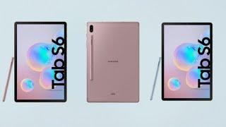 نظرة على الجهاز اللوحي Samsung Galaxy Tab S6