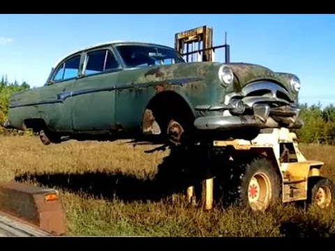Packard Saved From The Crusher Youtube