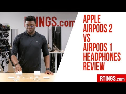 Apple AirPods 2 vs AirPods 1 Headphones Review - RTINGS.com