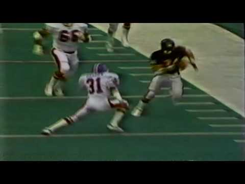 Chicago Bears Walter Payton TD vs Broncos 1984