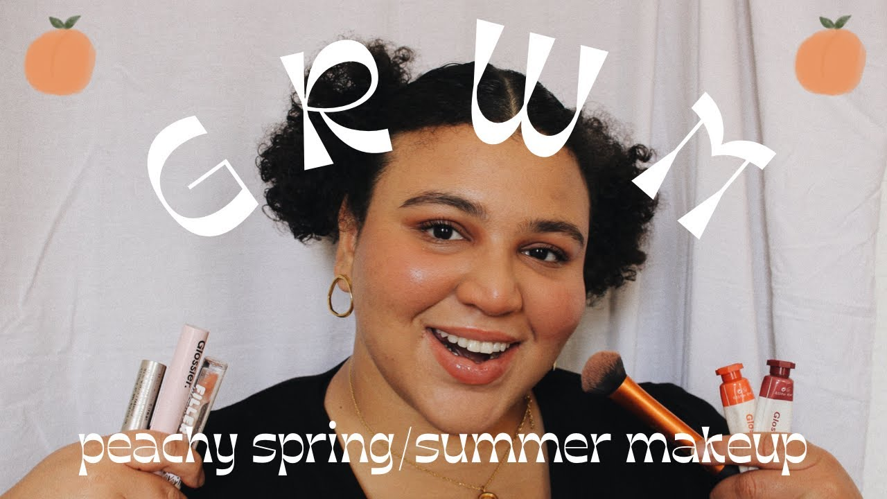 GRWM 🍑 Peachy Makeup For The Spring/Summer (cruelty-free)