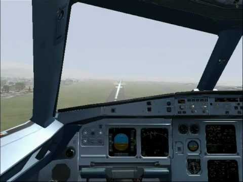 Egypt Air A320 Landing At Beirut (HD)