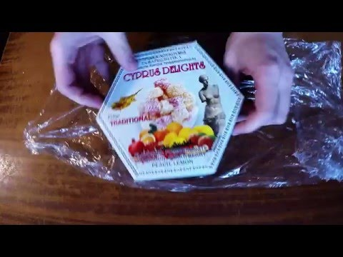Unboxing Cyprus delights