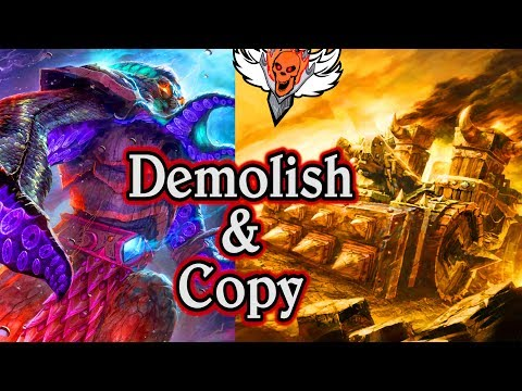 Demolisher and Faceless 🍀🎲 ~ Journey to Un'Goro ~ Hearthstone Heroes of Warcraft