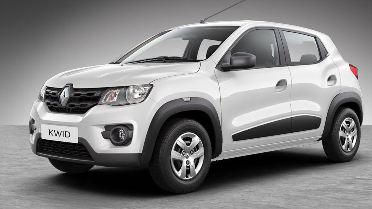 Renault Kwid 10l Spied Testing To Be Showcased At Auto Expo Youtube