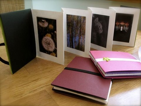 How to Make an Accordion Photo Album - YouTube