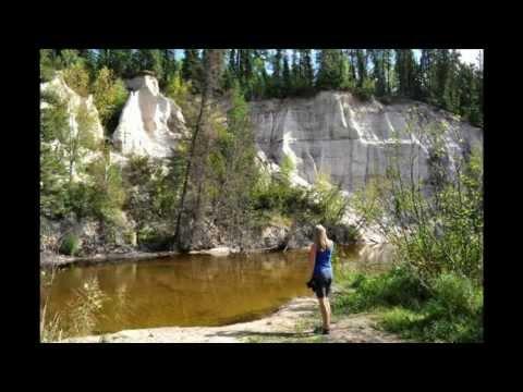 Nipekamew Sand Cliffs, Saskatchewan