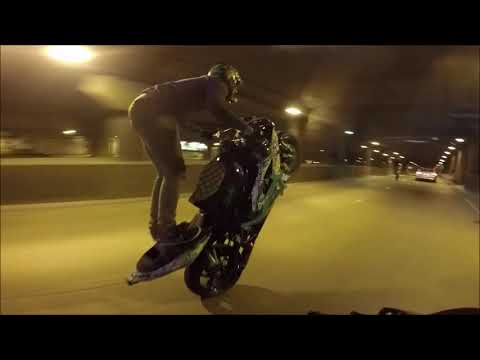Chicago's Streets After Dark! (Doomsday Ride 2018)