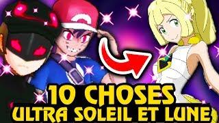 10 Nouvelles Choses Dans Pokemon Ultra Soleil Et Lune Youtube
