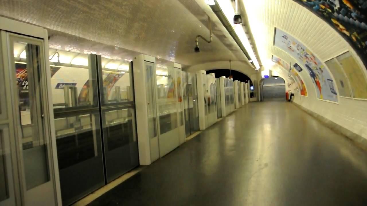 station b rault portes automatiques sur la ligne 1 du m tro de paris nikon d90 youtube. Black Bedroom Furniture Sets. Home Design Ideas