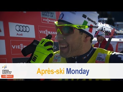 Sundby stays perfect, Pellegrino loves Davos  FIS Cross Country