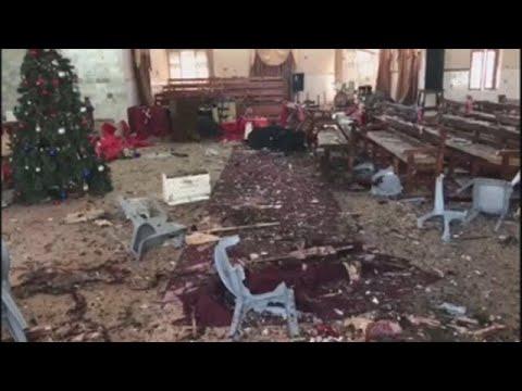 al menos 9 muertos y 30 heridos en ataque a una iglesia metodista en pakistan