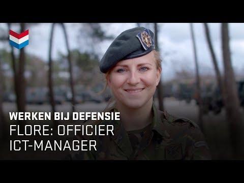 Flore is officier ICT Manager | Werken bij Defensie