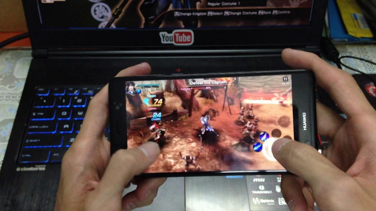 Trải nghiệm nhanh game Dynasty Warriors: Unleashed – Tam Quốc Chí 8 phiên bản Mobile